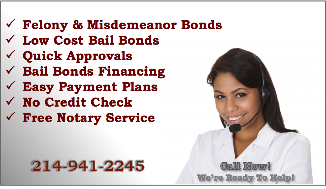 Dallas Felony & Misdemeanor Bail Bonds